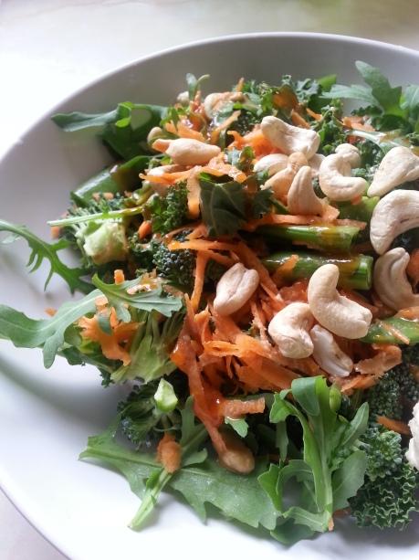 Raw Power Salad