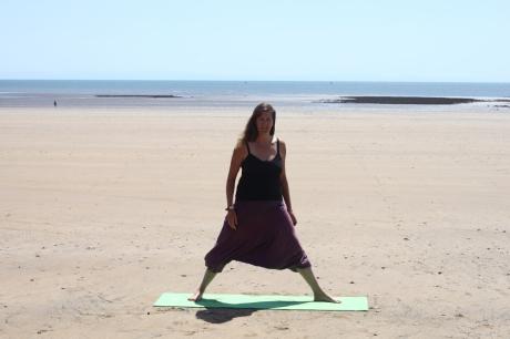 Beach yoga 11