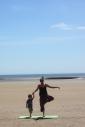Beach yoga 4