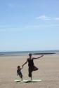 Beach yoga 5