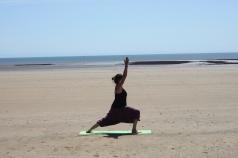 Beach yoga 6