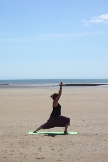 Beach yoga 8