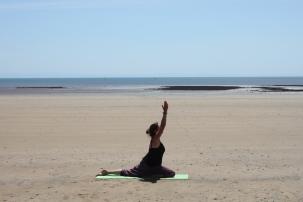 Beach yoga 9